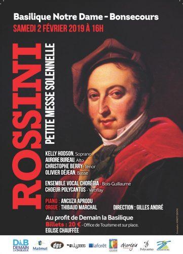 Petite messe solennelle Rossini Rouen-Bonsecours
