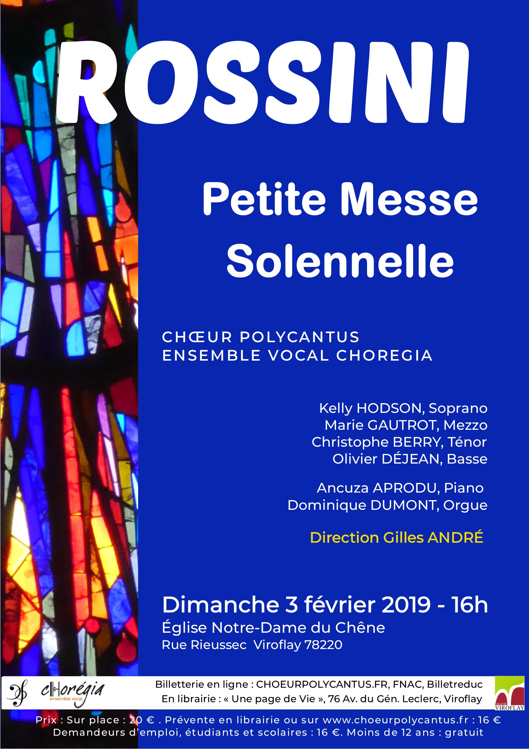 Petite messe solennelle Rossini Viroflay